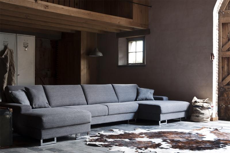 Bank Met Dubbele Chaise Longue.Loungebank Camden Moderne Loungebank Van Sofa At Home In Div Stoffen