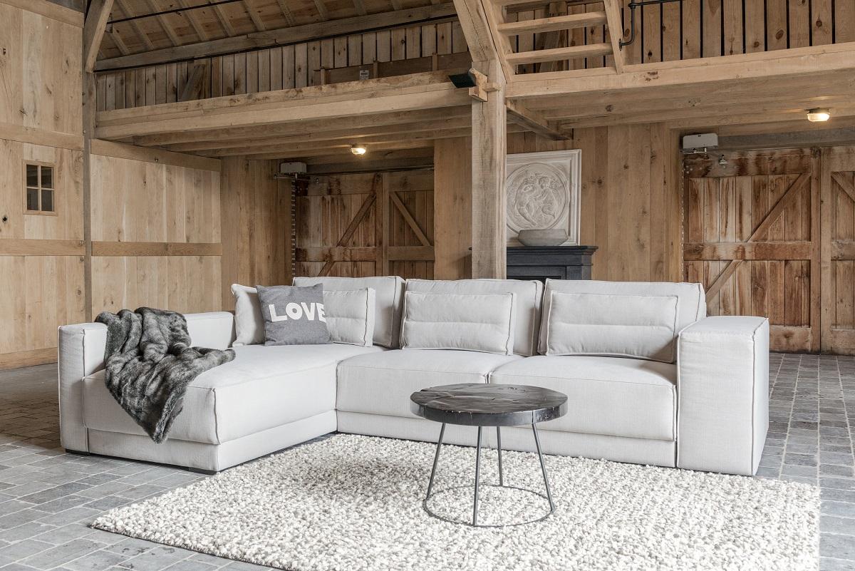 Loungebank Bayswater Sofa at Home hoekbank in landelijke stijl